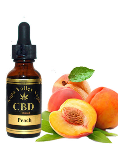 300mg CBD Hemp Stalk E Liquid vape e juice Hemp Vape 15ml Peach