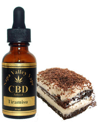 E Liquid vape 600mg CBD Hemp Stalk  e juice HempVap 30ml Tiramisu