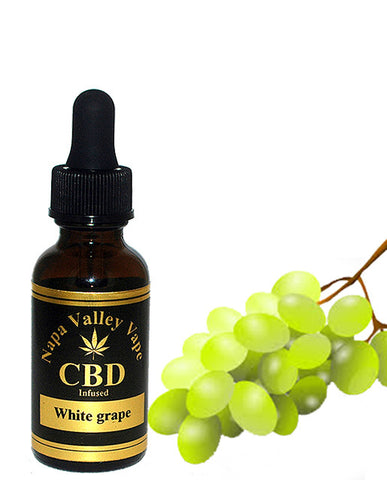 E Liquid vape 200mg CBD Hemp  Stalk e juice Hemp Vape 15ml White grape