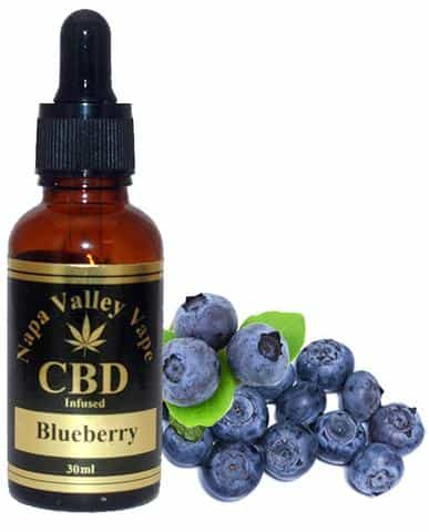 2000mg CBD Hemp Stalk E Liquid vape e juice Hemp Vape 60ml Blueberry
