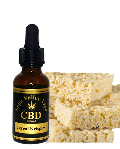 E Liquid vape 200mg CBD Hemp  Stalk e juice Hemp Vape 15ml Cereal krispies