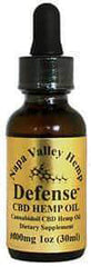 Napa Valley Hemp Defense 1000MG  1oz 30ml  drops unflavored