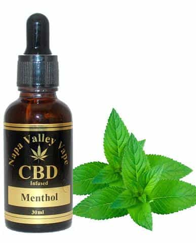 600mg CBD Hemp  Stalk E Liquid vape  e juice Hemp Vape 30ml Menthol