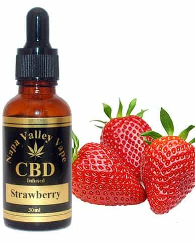 A Premium 1000mg CBD Hemp Stalk E Liquid vape e juice Hemp Vape 30ml Strawberry