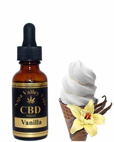 300mg CBD Hemp Stalk E Liquid vape   e juice Hemp Vape 15ml Vanilla