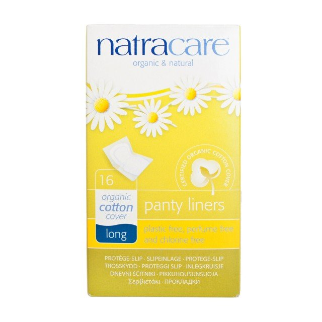 Natracare Panty Liners (Long 16pcs) |Natracare 有機棉護墊(加長 16片)