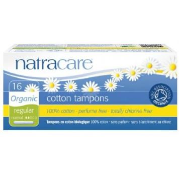Natracare Tampons with applicator (Regular, 16pcs) |Natracare有機衛生棉條 (導管標準型, 16條裝)