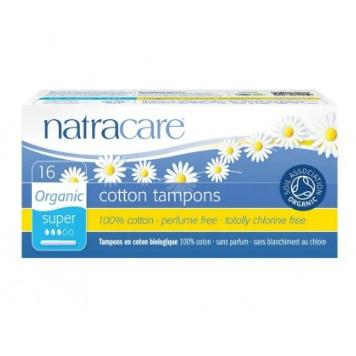 Natracare Tampons with applicator (Super, 16pcs) |Natracare有機衛生棉條 (導管量多型, 16條裝)