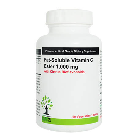 Dr. Nutraceuticals FAT - Soluble Vitamin C Ester 1000 mg 脂溶性维他命C (60 粒)