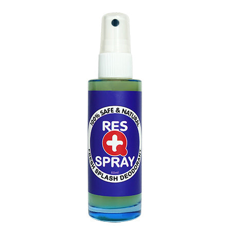Res Q Spray Fresh Splash Deodorant 清新止汗噴霧 (60ml)