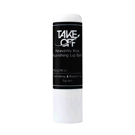 Take Off Heavenly Kiss Moisturizing Lip Balm 食品級有機潤唇膏 (5g)