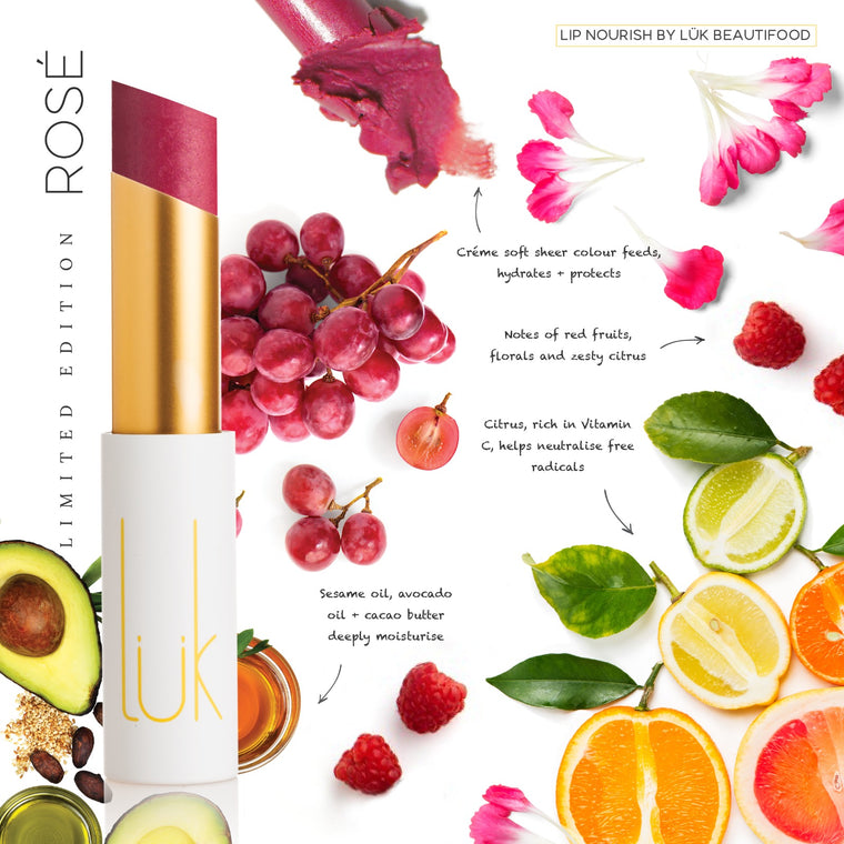 LÜK Lip Nourish - ROSE (Limited Edition) 限量玫瑰(3g)