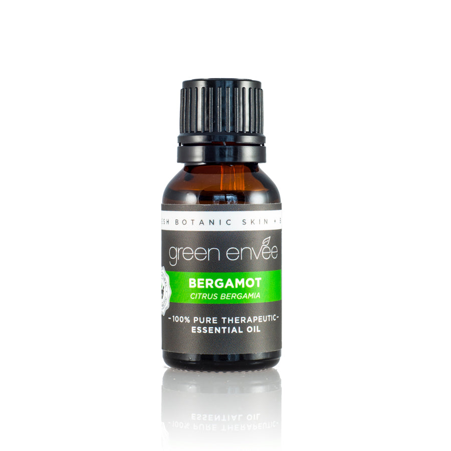 Green Envee BERGAMOT pure essential oil 15ML 有機佛手柑精油