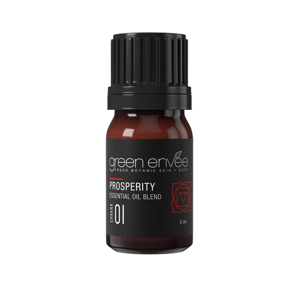 Green Envee 1ST CHAKRA (ROOT) – PROSPERITY ESSENTIAL OIL BLEND 海底輪脈輪精油 (5ml)
