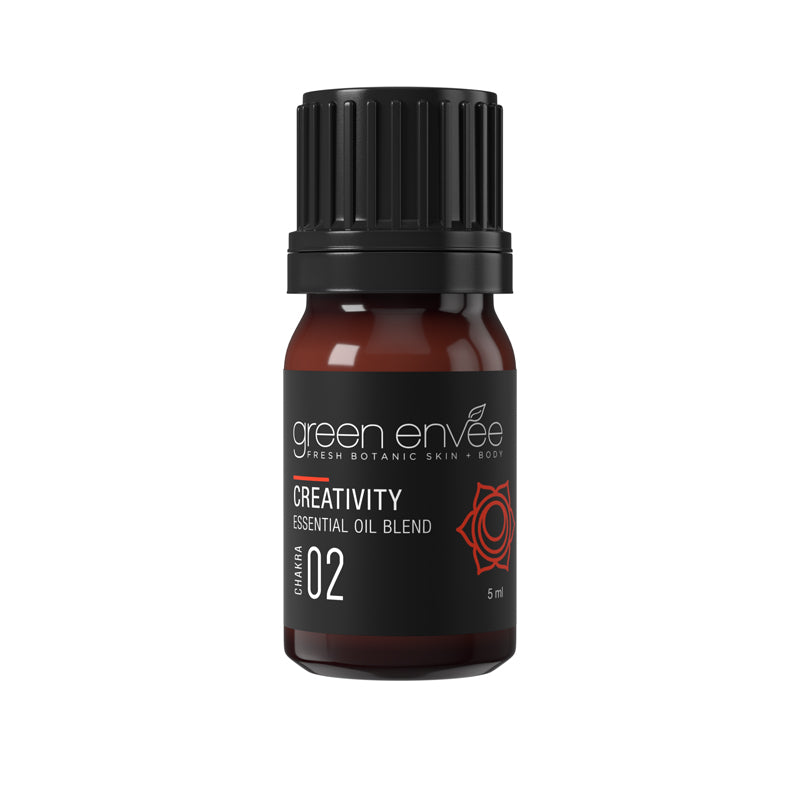 Green Envee 2ND CHAKRA (SACRAL) – CREATIVITY ESSENTIAL OIL BLEND 腹輪脈輪精油 (5ml)