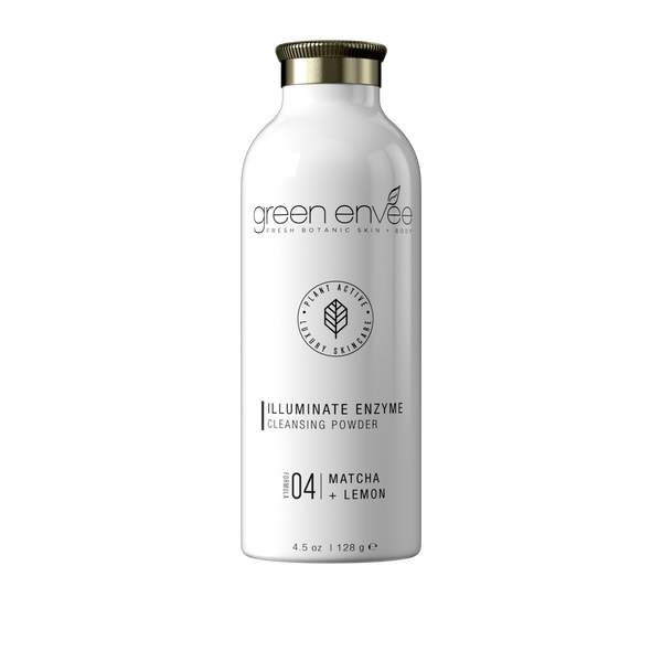 Green Envee 04 ILLUMINATE ENZYME CLEANSING POWDER 天然酵素亮白潔面粉 (128G)