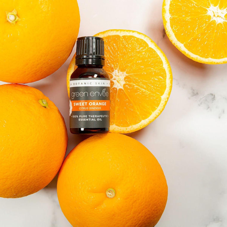 Green Envee SWEET ORANGE pure essential oil 15ML 有機甜橙精油