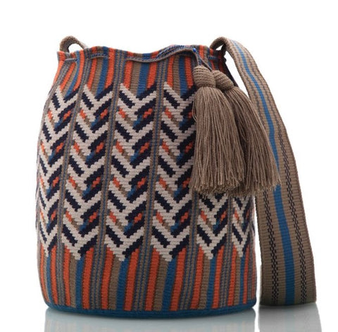 SUSU Oak Crossbody Mochila