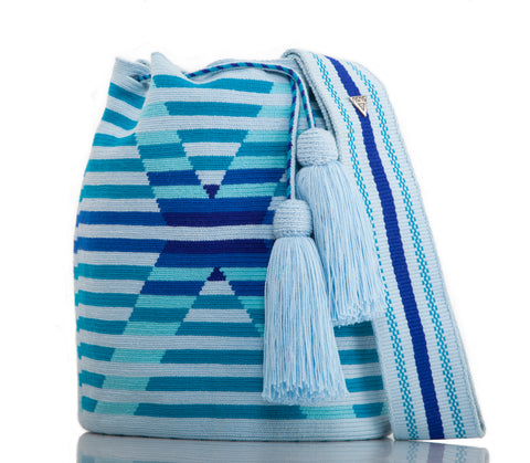 SUSU Daylight Crossbody Mochila Blue