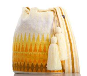 SUSU Reflection Crossbody Mochila Yellow
