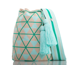 SUSU Star Crossbody Mochila Green