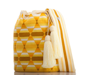 SUSU Spark Crossbody Mochila Yellow