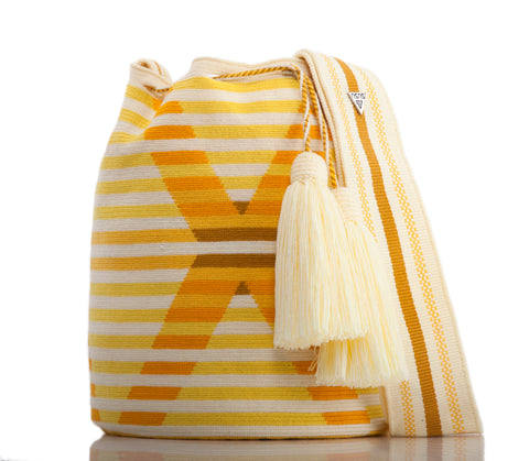 SUSU Daylight Crossbody Mochila Yellow
