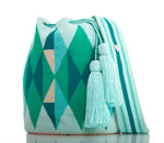 Load image into Gallery viewer, SUSU Precious Crossbody Mochila Green