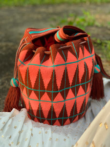 SUSU Open Crossbody Mochila