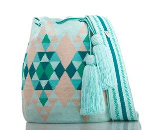 SUSU Brilliant Crossbody Mochila Green