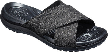 Women's Capri Shimmer Cross Band Sandal