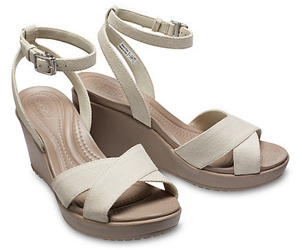 Women's Leigh II Cross Strap Ankle Wedge