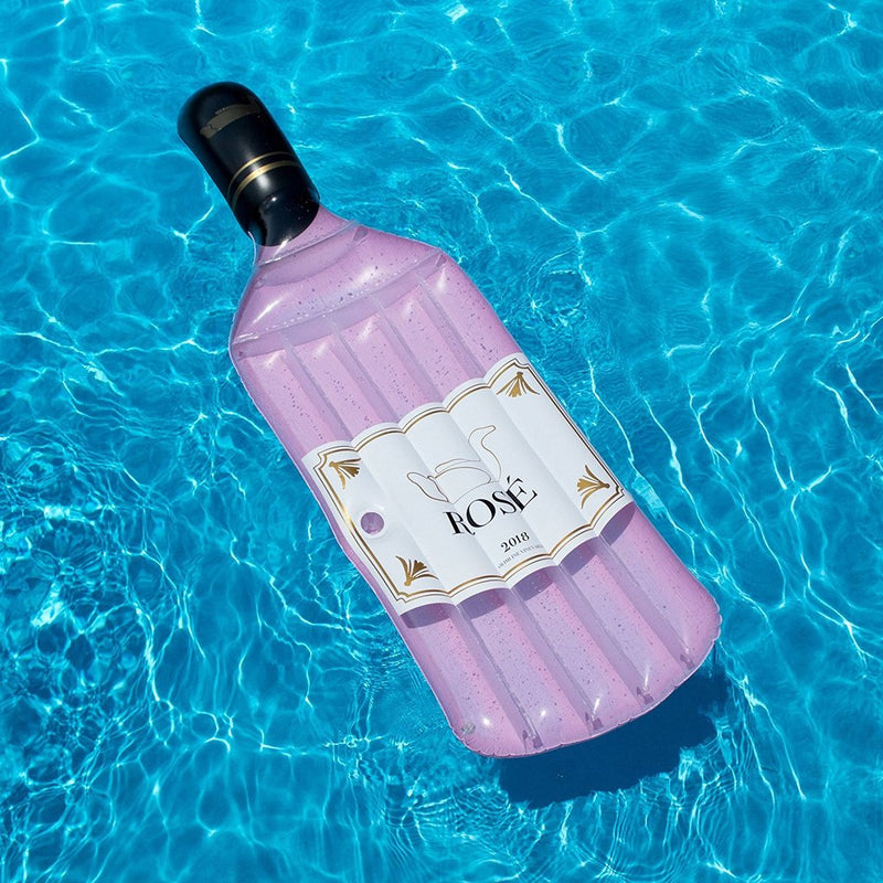 Rose Wine Pool Float