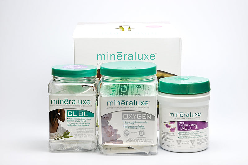 Mineraluxe New Spa Start-Up Kit
