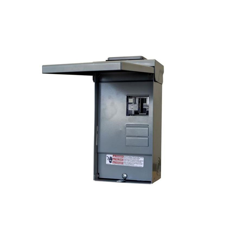 Siemens Spa Panel (GFCI Breaker)
