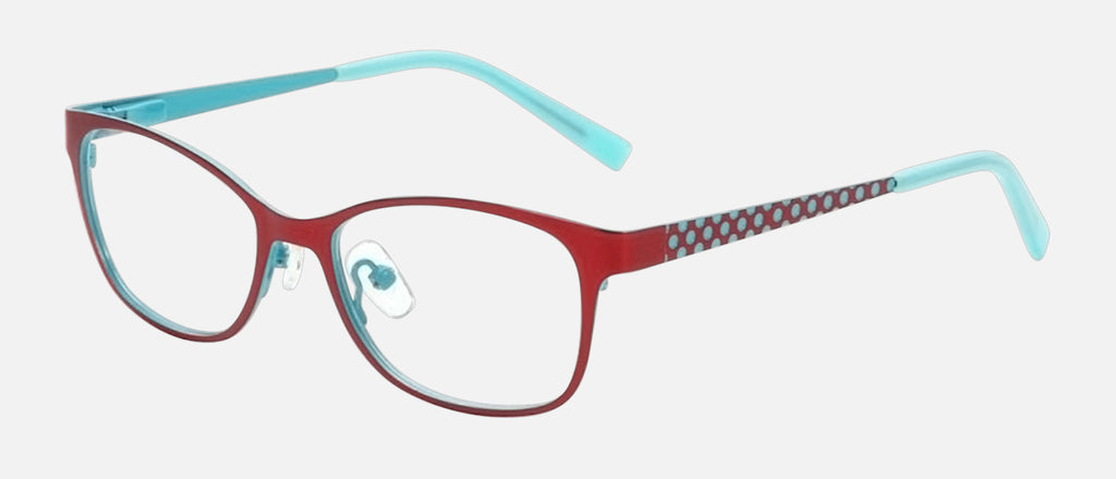 K2856 C3 Red/Turquoise 4517-125mm