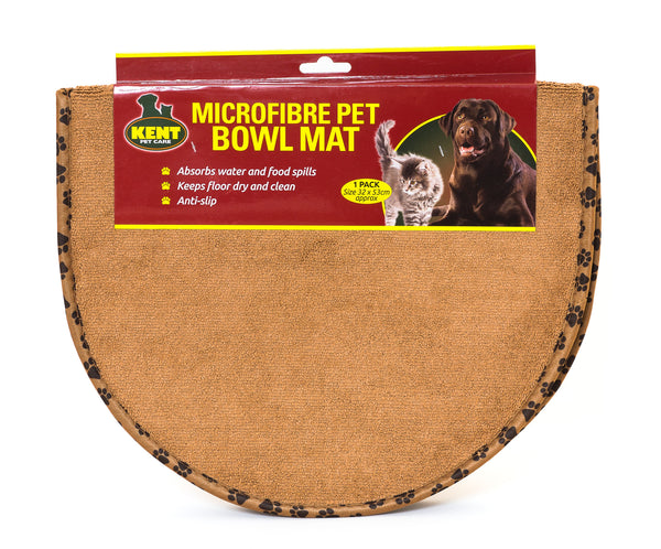 Microfibre Pet Bowl Mat