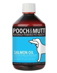Salmon Oil Omega 3 Supplement for Dogs