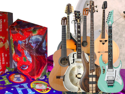 Gifts for Guitars & Folk Players