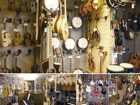 Omega Music Display Instruments