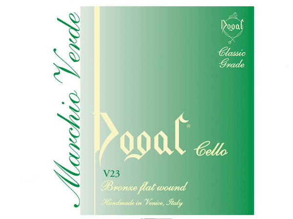 Dogal Green Cello 4/4-3/4 G String