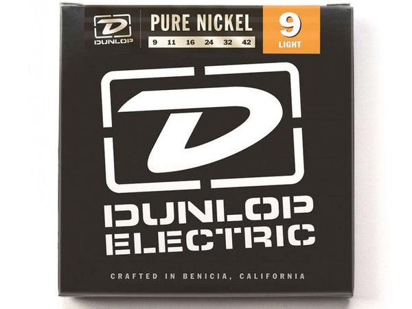 Dunlop Pure Nickel Electric Strings - Light
