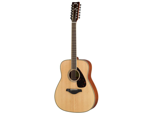 Yamaha FG820-12 12-String Acoustic Guitar In Natural Finish