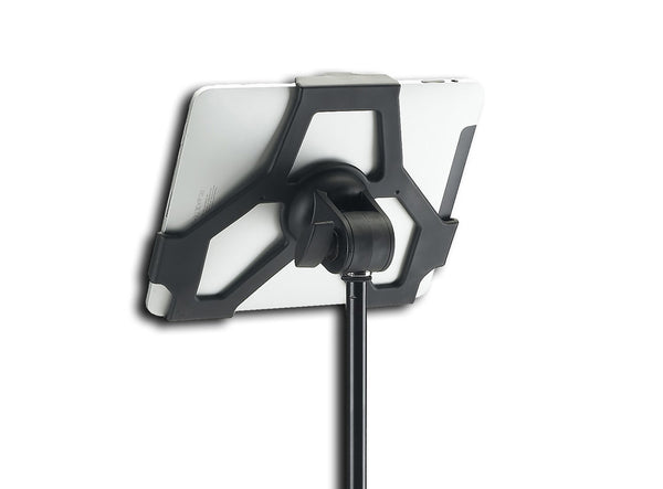 K&M 19710 iPad Stand Holder - Attaches iPad 1 to Mic Stand