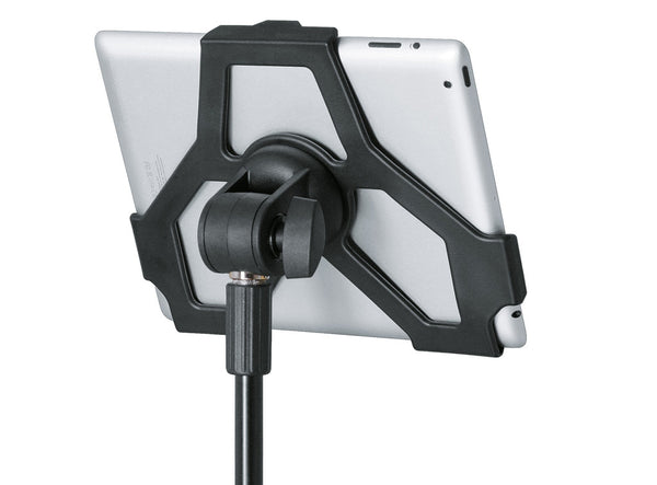 K&M 19712 iPad Stand Holder - Attaches iPad 2 to Mic Stand