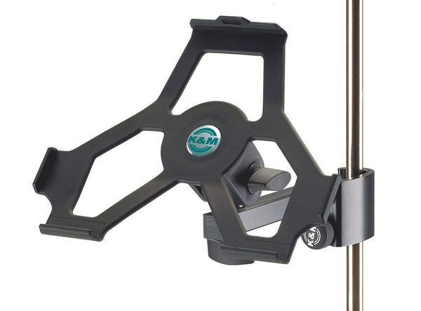 K&M 19722 iPad Stand Holder - Attaches iPad 2, 3 or 4 to Any Stand