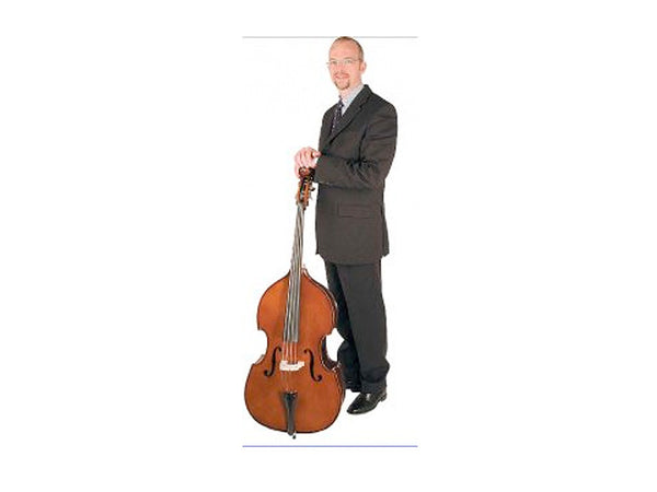1/16 Stentor Student 1 Double Bass Outfit