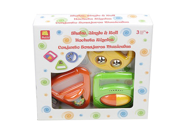 Baby Musical Shapes set Halilit MP3800