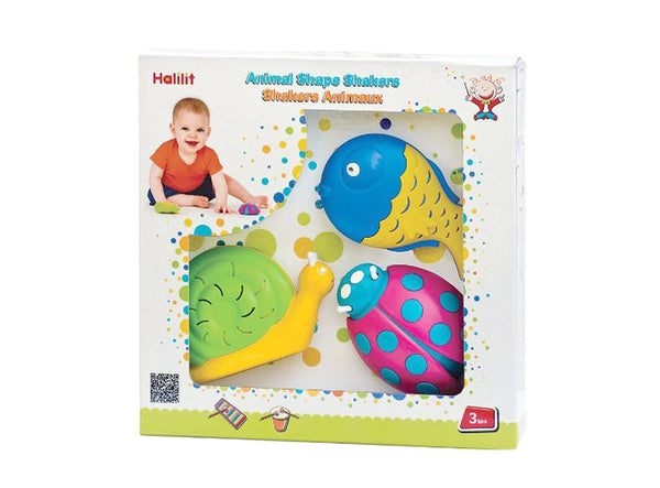 Baby Animal Shakers Set Halilit MP3900