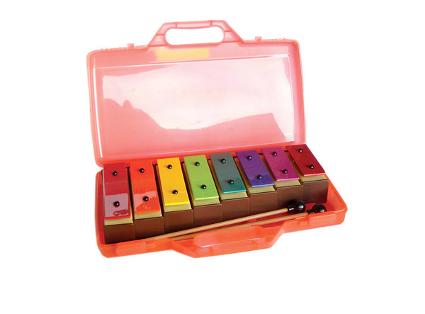 Coloured Chime Bar Set in Case - PP935